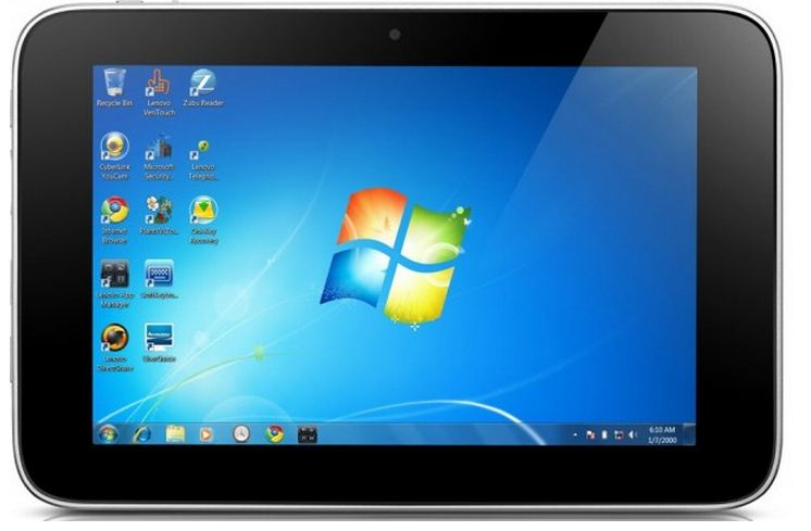 IdeaPad Tablet P1 mit Windows 7