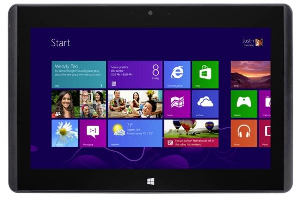 MSI Windows 8 Tablet W20
