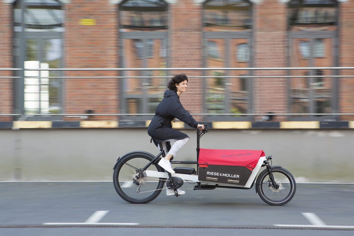 Packster: Neues E-Cargo-Bike (Foto: Riese & Müller)