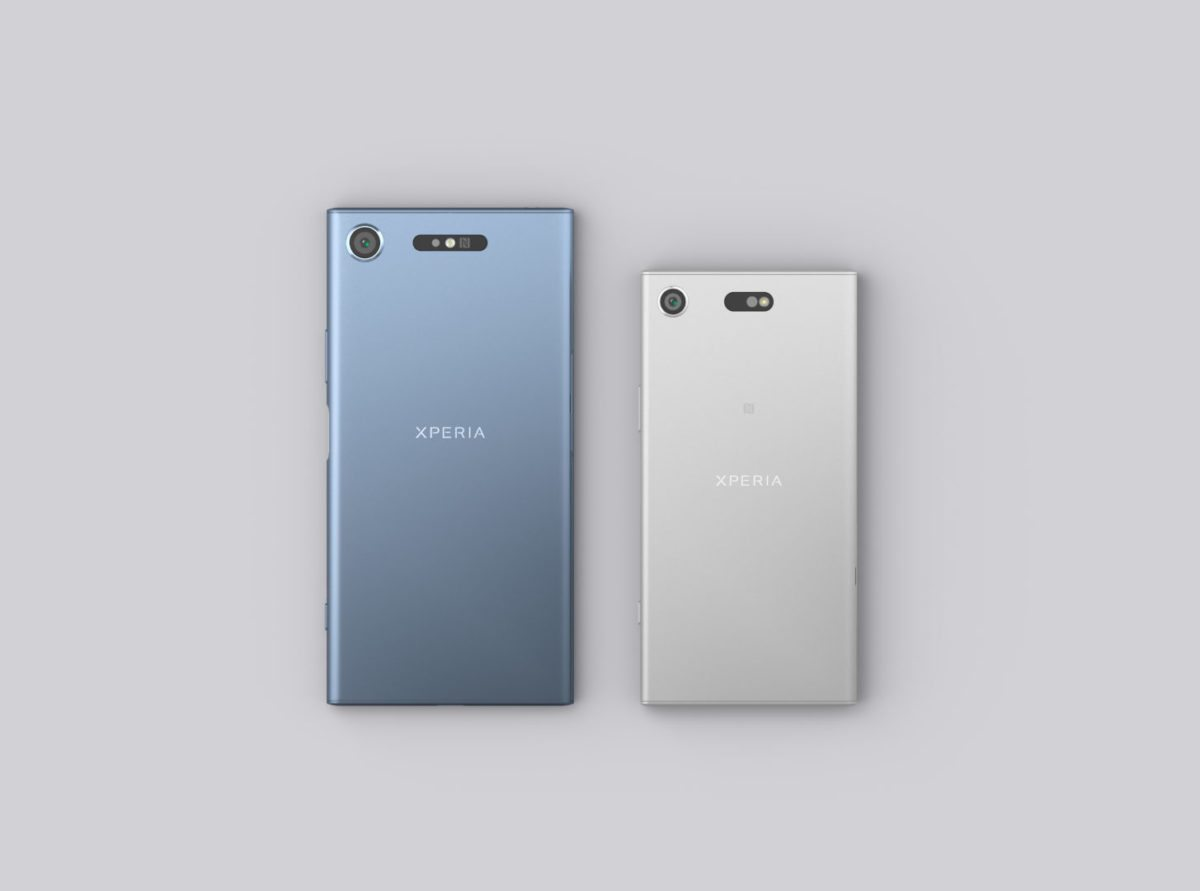 Xperia XZ1 und XZ1 Compact (Foto: Sony Mobile)