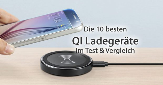 10 Qi Ladegerate Iphone Android Handy Kabellos Laden