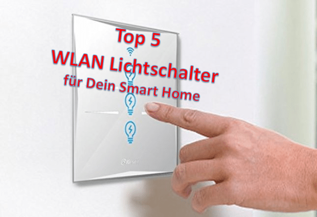 smart home wlan lichtschalter f r alexa google home in 2018. Black Bedroom Furniture Sets. Home Design Ideas