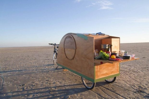 Bicycle Caravan (Foto: www.bicyclecaravan.com)