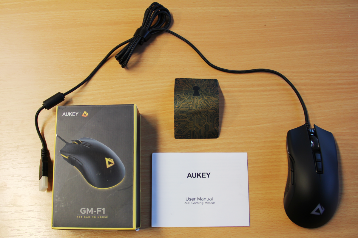 AUKEY GM-F1 Gaming Maus im Test
