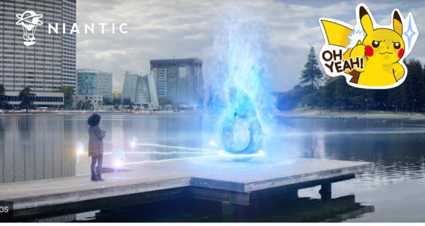 Niantic AR Brille der Pokémon Go Macher